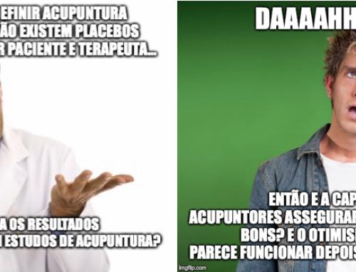 Resultados aberrantes: como explicar os efeitos da acupuntura